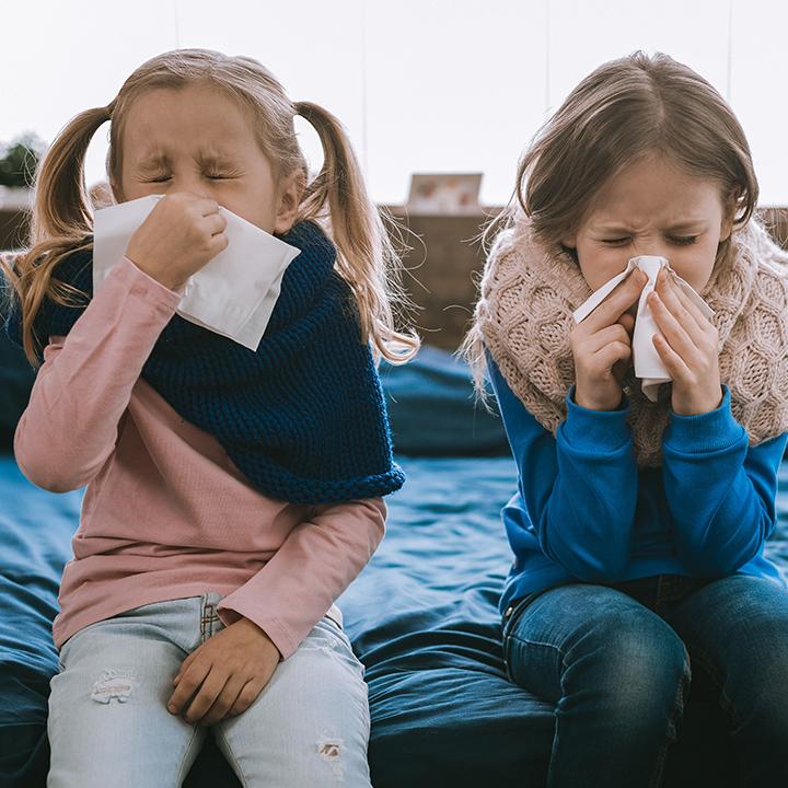 把握しておきたい子供がかかりやすい感染症